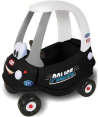 Witte Little Tikes Cozy Coupe Speciale Politie Editie - Loopauto