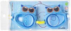 Blauwe Merkloos / Sans marque Zwembril - Chloorbril - Dieren - 3 tot 10 jaar - Nijlpaard