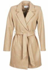 Bruine Vilus jacket dusty camel - Vila