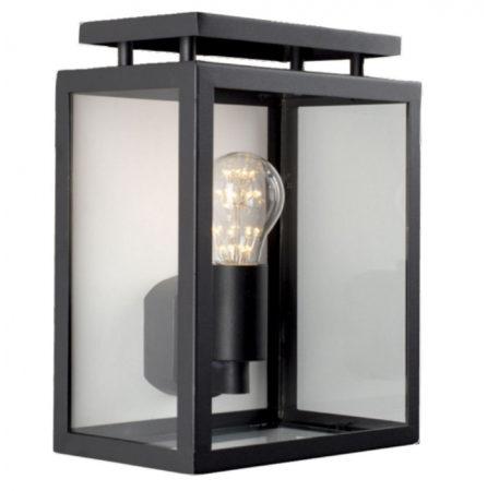 Afbeelding van Zwarte KS Verlichting K.S. Verlichting De Vecht Wandlamp - Zwart