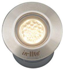 Inlite Inbouwspotje Hyve 22 RVS Led 12 volt LED In-lite 10104000