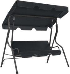 Antraciet-grijze VidaXL Tuinschommelstoel 170x110x153 cm antraciet