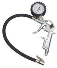 Bandenspanningsmeter 1/4 (6.3 mm) Kalibratie conform: Fabrieksstandaard (zonder certificaat)