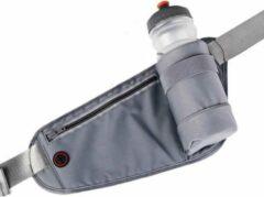 LB-441 Heuptas sport rennen waterproof smartphone riem fleshouder Heup band - Hardloopband Telefoon - Sportband - Hardloop Riem - Grijs