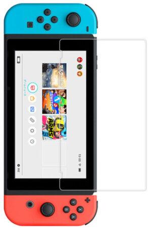 Afbeelding van Transparante Tempered glass screen protector voor Nintendo Switch