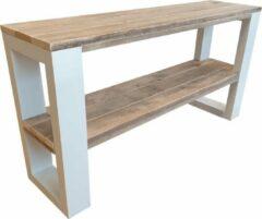 Bruine Wood4you - Wandtafel NewOrleans 150Lx78HX38D cm