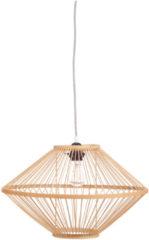 Merkloos / Sans marque KidsDepot Ufo Hanglamp Bamboe Naturel
