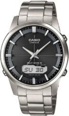 Zilveren Casio LCW-M170TD-1AER - Horloge - 40 mm - Titanium - Zilverkleurig