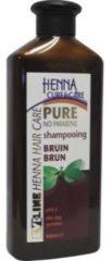 Henna Cure&Care Shampoo Pure Bruin (400ml)