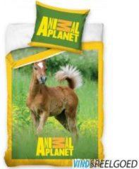 Animal Planet - Dekbedovertrek - Eenpersoons - 140x200 cm + 1 kussensloop 70x80 cm - Multi