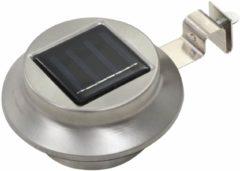 Zilveren VidaXL LED-solarlampen rond 12 cm wit 6 st