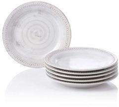 Dessertteller-Set IMPRESSIONEN living grau meliert