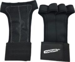 Zwarte Tunturi Platinum Pro Cross Fit Grips Silicone XS
