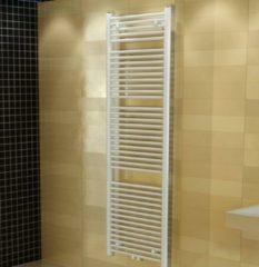 Boss & Wessing Designradiator Nile Gobi 170x60cm Wit Zij aansluiting (Links Rechts Aansluiting)