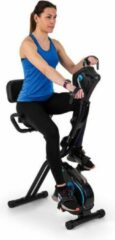 Zwarte Capital_sports CAPITAL SPORTS Azura Full Body Comfort hometrainer - cardio bike met trainingscomputer - 7,5 kg vliegwielmassa - riemenaandrijving