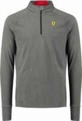 Ferrari Sportshirt Scuderia Heren Polyester Grijs Maat Xs