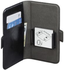 Hama Smart Move L Booklet Geschikt voor max. (smartphone) 11,4 cm (4,5) Universal Zwart