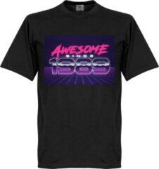 Retake Awesome Since 1989 T-Shirt - Zwart - L
