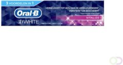 Oral-B 3D White Vitalize - Voordeelverpakking 12x75 ml - Tandpasta
