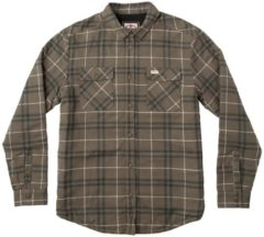 RVCA Ar Plaid Shirt LS