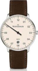 MeisterSinger Mod. NE403 SCF02 - Horloge