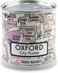 Craenen Bvba City Puzzle Oxford - Puzzel - Magnetisch - 100 puzzelstukjes