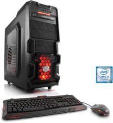 CSL Gaming PC | Core i7-7700 | GeForce GTX 1060 | 16 GB RAM | SSD »Levitas T7475 Windows 10«