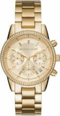 Gouden Michael Kors Horloge Ritz MK6356