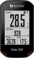 Zwarte Bryton Rider 320 E / Basis Fietscomputer - 320 E / Basis