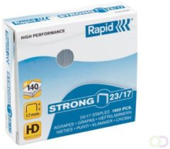 Nieten Rapid 23/17 gegalvaniseerd strong 1000 stuks