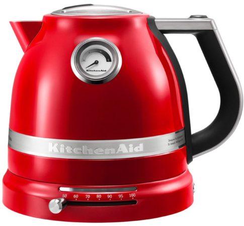 Afbeelding van KitchenAid Artisan waterkoker 1,5 liter 5KEK1522 - keizerrood