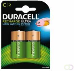 Oplaadbare C batterij (baby) Duracell HR14 NiMH 1.2 V 3000 mAh 2 stuk(s)