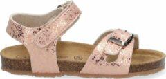 Goudkleurige Est. 1842 sandalen met print roségoud