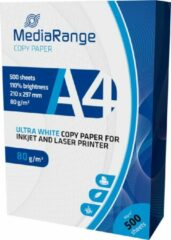 Witte MediaRange printerpapier DIN A4 Copypaper 80g, 500sheets