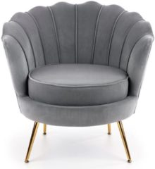 Home Style Fauteuil Amorinito 83 cm breed in grijs