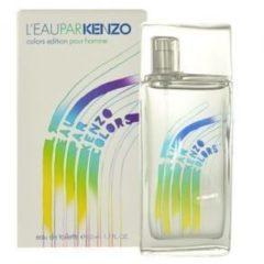 Kenzo LEau Par Kenzo Colors Pour Homme 50 ml Eau de Toilette edt Spray Profumo Uomo