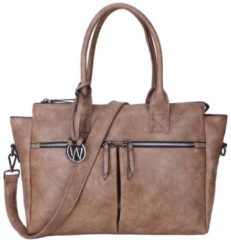 Wimona Catarina One 2031 - Schoudertas / Laptoptas - Taupe