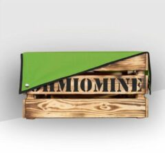 Donkergroene Ohmiomine Transporter Fietskrat Bruin & Dennengroen