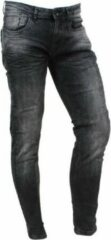 Zwarte Cars Jeans - Heren Jeans - Slim Fit - Stretch - Lengte 36 - Blast - Black Used
