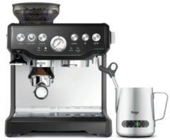 Sage The Barista Express Espressomachine RVS, Zwart 2400 W Met koffiemolen, Met melkopschuimer