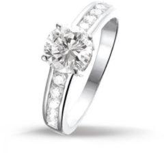 TFT Huiscollectie 1308553 Zilveren zirkonia ring Maat 47 is 15 mm