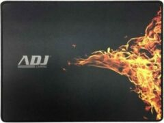 Zwarte A-DJ ADJ 130-00008 ADJ Gaming Blaze Mouse Pad [300x400x3mm, Black]