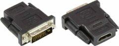 Zwarte Good Connections Alcasa HDMI 19pin - DVI