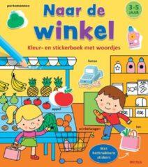 B.V. Centrale Uitgeverij Harderwijk Deltas Kleur-Stickerboek Naar de Winkel