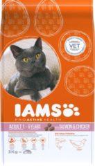 Iams Cat Adult Zalm - Kattenvoer - 3 kg