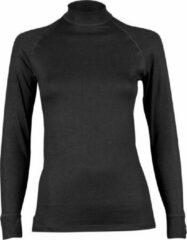 Zwarte RJ Bodywear Dames Shirt Lange Mouw Thermo