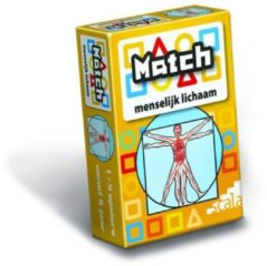 Ons Magazijn Match kaartspel 4 - Match menselijk lichaam