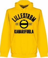 Retake Lillestrom SK Established Hoodie - Geel - XL