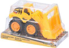 Gearbox Bulldozer - Geel - 18x9,5cm