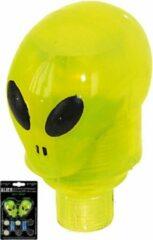Ventura Ventiel licht led alien - Verlichtingsset - Inc. batterijen - Geel